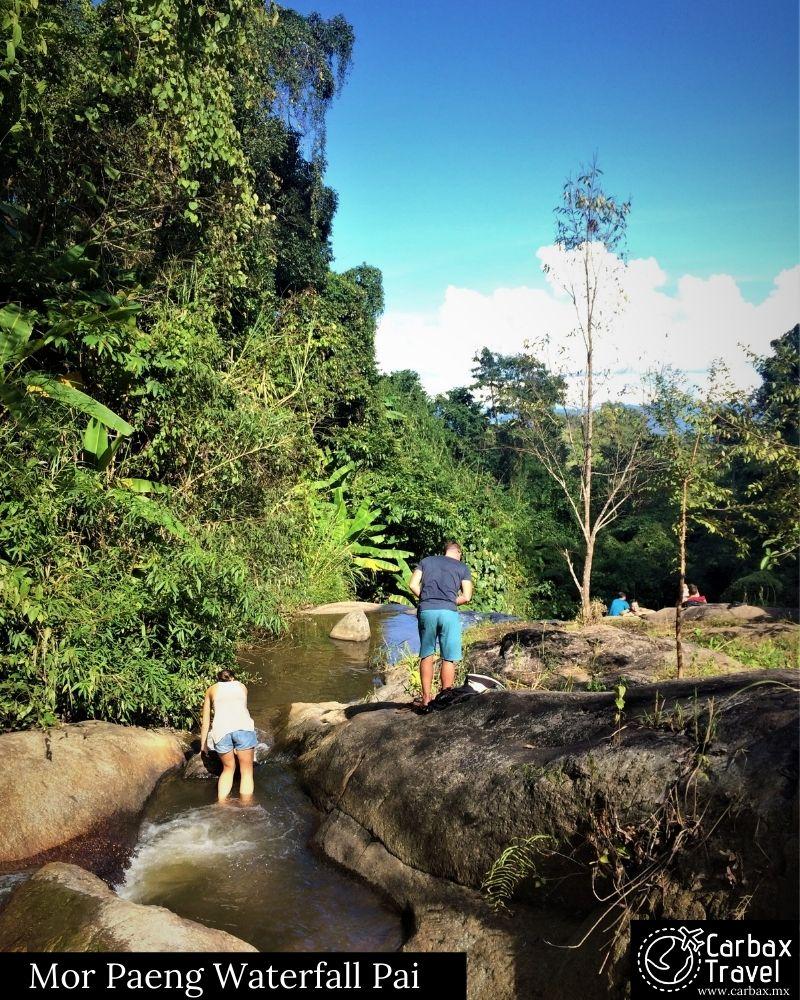 Top Actividades en Pai ¿Que hacer?Mor Paeng Waterfall Pai / Cascada Mor Paeng PAI
