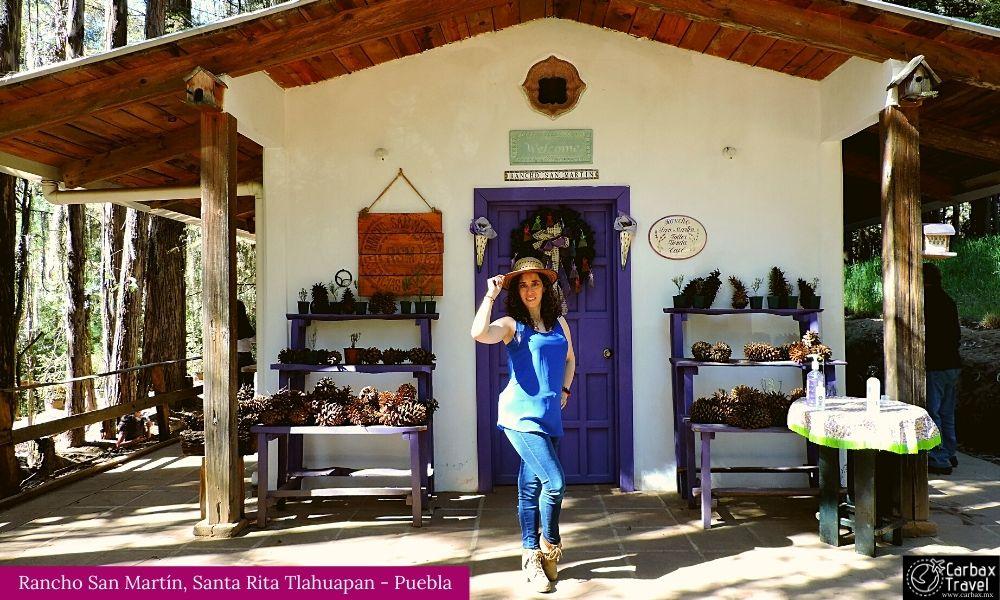Campos Lavanda Puebla Rancho San Martin