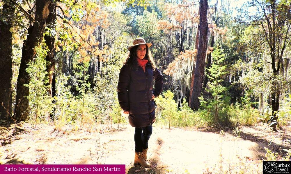 Rancho San Martin, Baño Forestal Senderismo
