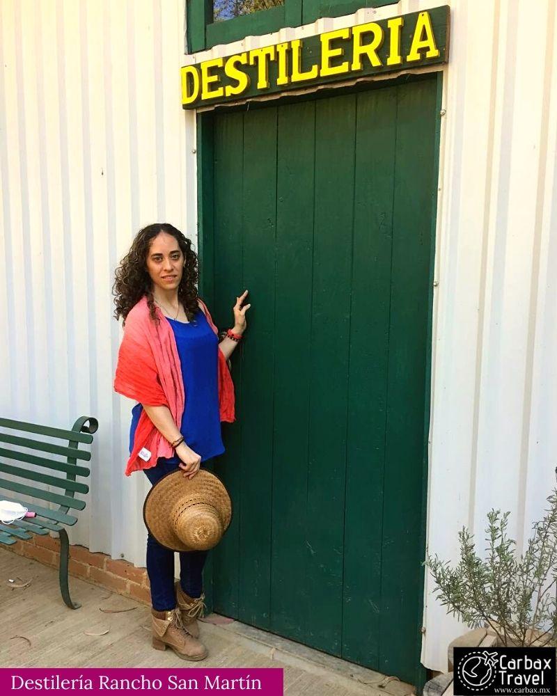 Rancho San Martin, Destilería de aceites esenciales
