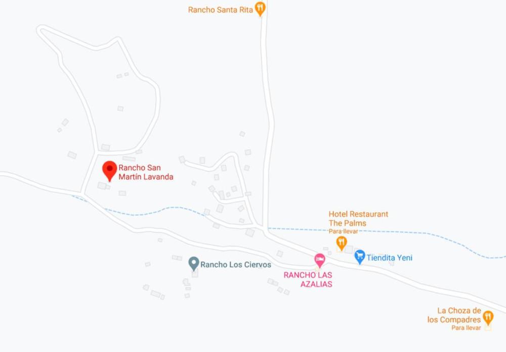 Guia Rancho San Martin Mapa