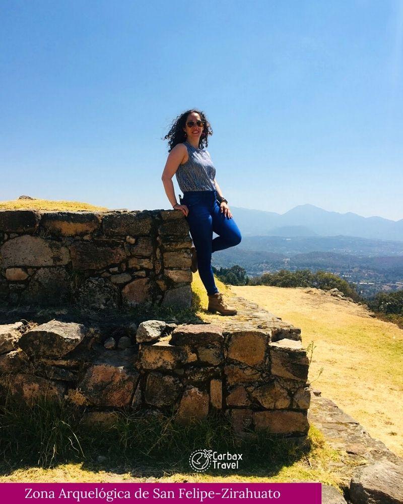 Zona Arquelogica de Zirahuato Michoacan