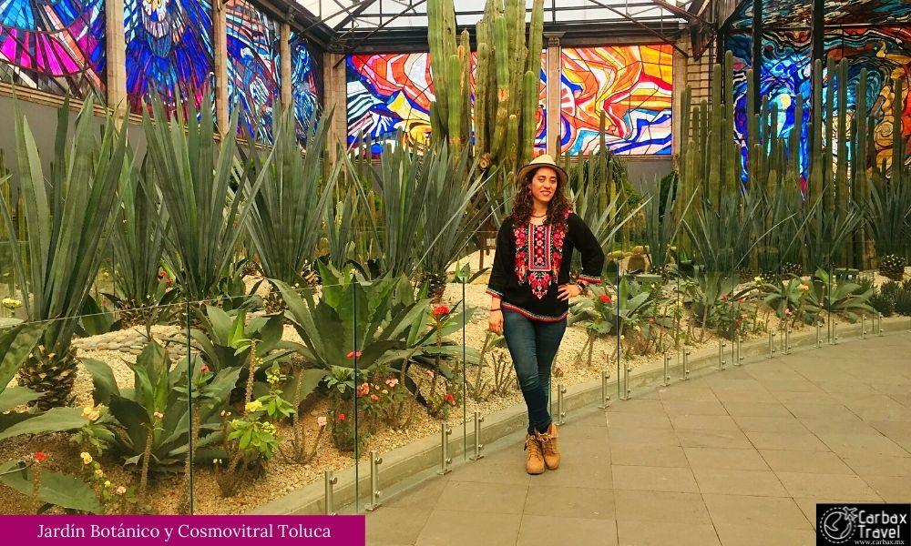 Cosmo Vitral y Jardin Botanico de Toluca