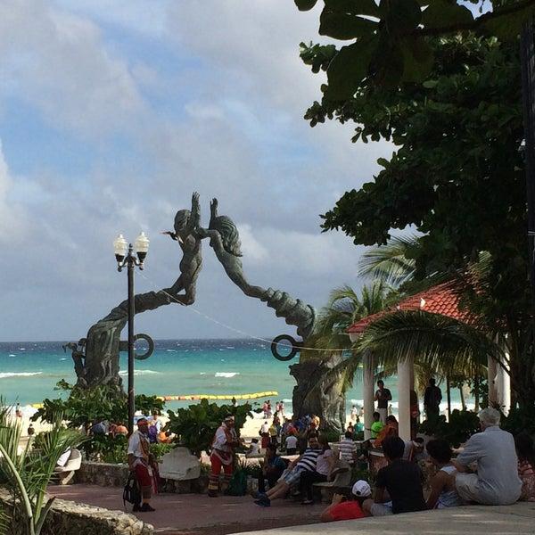 Parque Fundadores Playa del Carmen