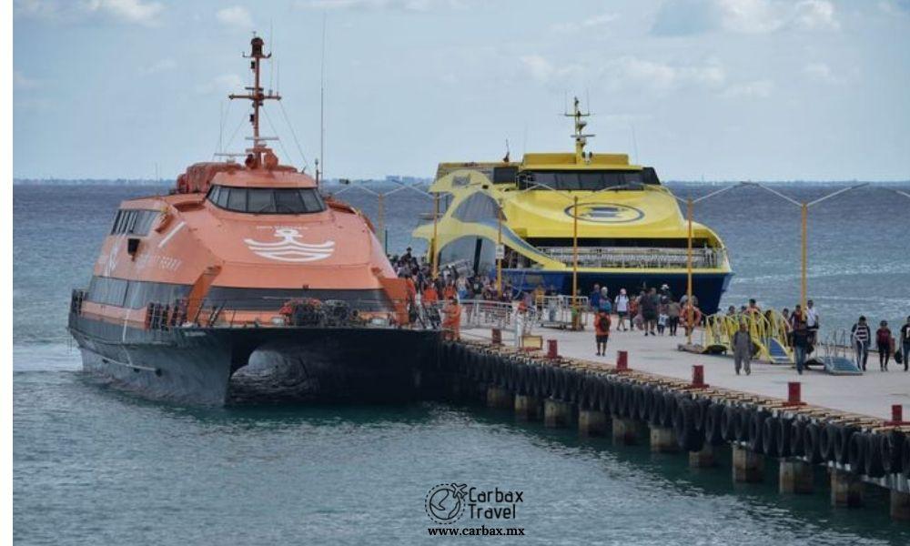 Ferrys a Cozumel