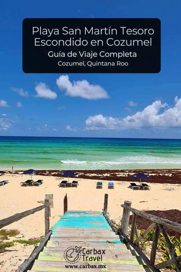 Playa San Martin Tesoro Escondido Cozumel