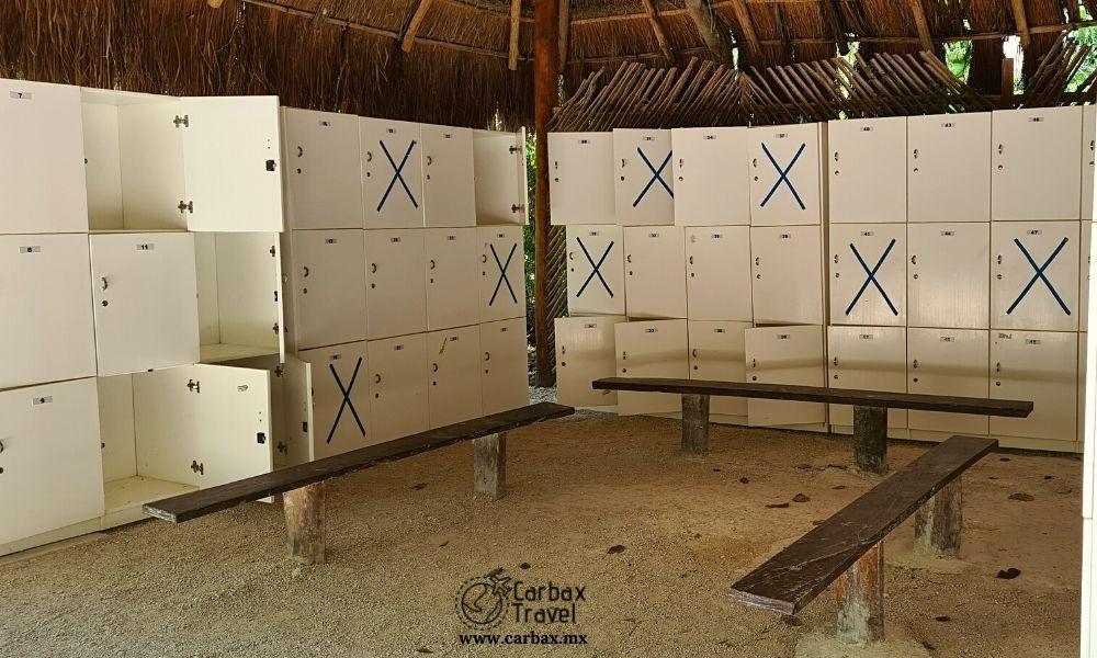 Cenote Chaak Tun Lockers